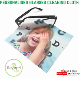Personalised Photo, Design, Glasses Lens, Phone Screen Cleaning Cloth