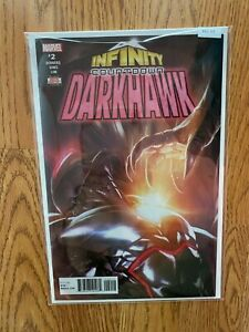 Infinity Countdown Darkhawk 2 - High Grade Comic Book - B62-55