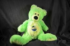 Green Teddy Bear Plush Toy Universal Kids Cuddly Stuffed Animal Soft Gift Softy
