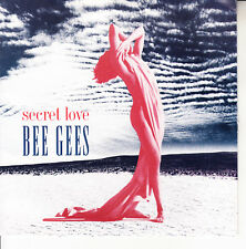 "BEE GEES  Secret Love PICTURE SLEEVE 7"" 45 rpm record NEW + jukebox title strip"