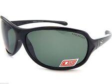 Dirty Dog KeeKee Ladies Sunglasses Womens Black Green Polarised Lens 53284