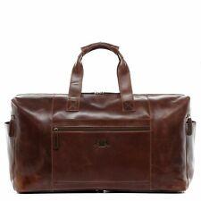 b21a963d00fd3 Reisetasche Leder Bristol Weekender XL Sporttasche Herren Schulter Tasche  braun