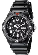 Brand New Casio Athletic Men's Sport Analog Waterproof Quartz Dive Watch Black