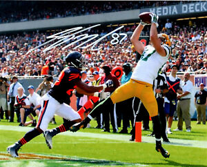 Packers Receiver JORDY NELSON Signed 8x10 Photo #5 AUTO - SB XLV Champ -