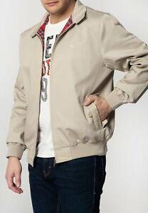 Merc London Harrington Beige Cotton Jacket