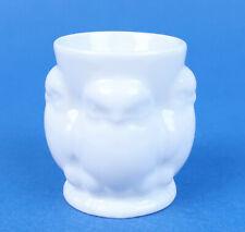 Vintage French Art Deco Birds EGG CUP Blanc de Chine Limoges Porcelain Open Salt