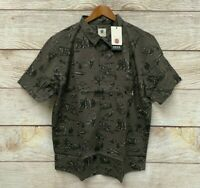 Element Shirt Mens Size Large HuntingWendel Classic Fit Button Down Shirt New