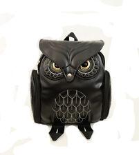 Vintage Elegant Women Bag  Backpack Fashion Backpack OWL Women Backpack
