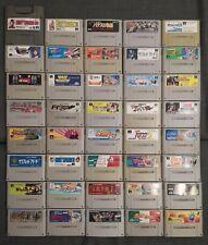 40x Super Famicom Spiele Sammlung Set Lot NTSC-J Super Nintendo SNES Japan Junk