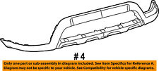 Dodge CHRYSLER OEM Front Lower Bumper-Spoiler Chin Lip Splitter 68088688AB