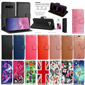 For Samsung Galaxy S7 S8 S9 S10 S20 S20 FE S21  Case Cover Leather Wallet Book