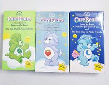 Care Bears 3 VHS Tapes 6 Episodes Cartoons Total New Sealed Nelvana