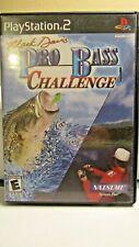 Mark Davis Pro Bass Challenge (Sony PlayStation 2, 2003)FREE SHIPPING