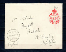 EGYPT 1935 BRITISH MILITARY FORCES COVER TO UK GB
