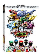 Power Rangers: Dino Super Charge: TV Series Complete Season 23 Box / DVD Set NEW