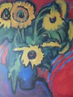 Ernst Ludwig Kirchner - Sonnenblumen