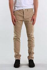 Rusty Indi Slims Men Slouch Rise Narrow leg Flipside Pants Fennel Khaki Size W34