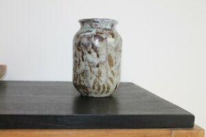 Magnifique Céramique Vase Signée Eugène Lion Puisaye Caries