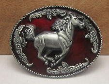 American Cowboy Cowgirl Texas Country Vintage Horse Rodeo West Belt Buckle Metal