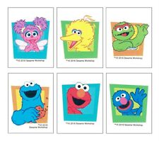 12 Sesame Street Temporary Tattoos Elmo Party Goody Loot Bag Filler Favor Supply