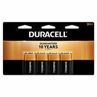 Duracell CopperTop Alkaline Batteries with Duralock Power Preserve Technology 9V