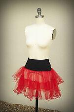 TRIPP Vintage 1980s Size M Junior Ruffle Tiered Mini Skirt USA