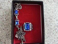 US SELLER! Black Butler Ring+Bracelet Combo, sebastian ciel Jewelry
