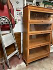 Vintage Macey Barister Bookcase, Library Shelving
