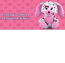 Cinnamon Swirl Friendship Bunny #2 Build A Bear Workshop 2012 Happy Meal Toy