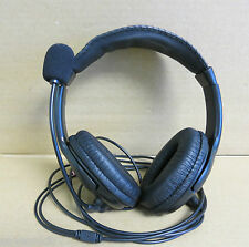 Generic Over The Head Headset With 3.5mm Jack To Microphone and Earphone Socket