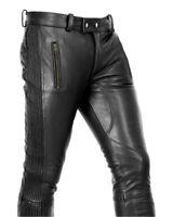 Awanstar lederchaps mit 2 streifen ohne knee naht,leder chaps,Cuir,leather chaps