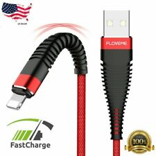 Fast Charging Charger USB Cable Lead Cord Data Sync Long Cable For iPhone Type C
