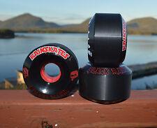 "Rainskates ""BLACK RAIN"" 63mm 101a  Old School skateboard wheels, NEW!"