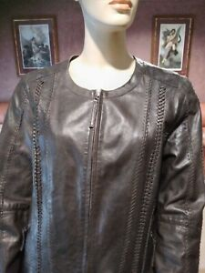 """""""SUSSAN"""" ,Gorgeous Ladies leather jacket. Made in India. Size 16"""