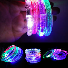 New Kids Adults LED Light Up Bracelet Bangle Wrist Band Arm Band Belt
