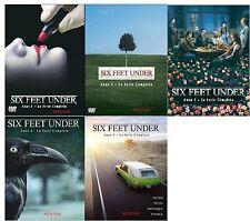 Six Feet Under - Stagioni 1,2,3,4 e 5 - Cofanetti Singoli (25 DVD) Sigillati