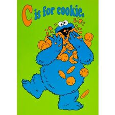 Sesame Street - C Is For Cookie Postcard