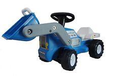 Babyrutscher Traktor blau Kinderfahrzeug Rutschauto reifra Plasticart