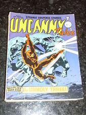 UNCANNY TALES Comic - No 63 - Alan Class & Co Comic