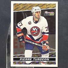 PIERRE TURGEON  1993-94  Topps  Premier  Black Gold  #20  New York Islanders