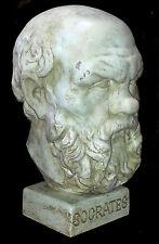 Socrates Classical  Athenian philosopher Greek Italian Style Sculpture Bust 40cm
