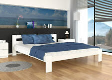 """SMALL DOUBLE SOLID PINE BED 120x200 (3'11""""x6'7"""") +Mattress +FREE DELIVERY"""