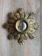 Vintage 1930s French Sunburst Mirror,Baroque Style
