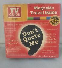 Vintage TV Guide Travel Game New & Sealed 90's Fun
