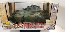 2003 ULTIMATE SOLDIER X-D 1/18 SCALE  M2  FIGHTING VEHICLE IN ORIGINAL BOX
