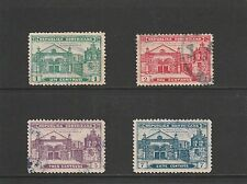 DOMINICAN REPUBLIC - 1931 - CATHEDRAL OF SANTO DOMINGO - 4 X USED STAMPS
