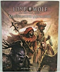 Lone Wolf Magamund Menagerie Adventure Roleplaying Game RPG Cubicle 7 Guide Book