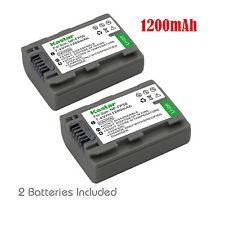 2x Kastar Battery for Sony NP-FP51 NP-FP50 NP-FP30 DCR DVD HC HR HDR HDV