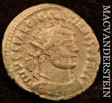 Diocletian AD284-305 AE Antoninianus Rev Diocletian Victory From Jupiter #Y2207