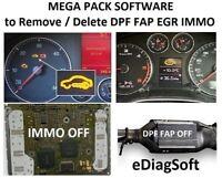 6 Software to REMOVE DPF , DELETE DPF, MAKE DPF OFF, FAP OFF, EGR OFF, IMMO OFF
